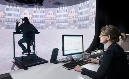 Dr. Suzanne Nooij in the panoramic lab of the MPI